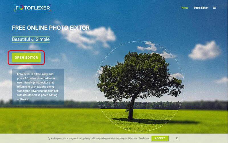 無料画像編集ソフト「FotoFlexer」の使い方