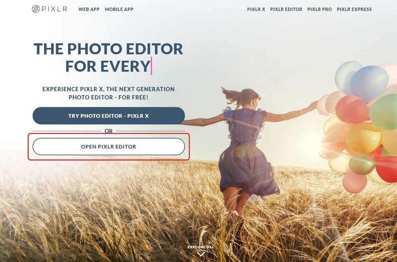 無料画像編集ソフト「Pixlr Editor」の使い方